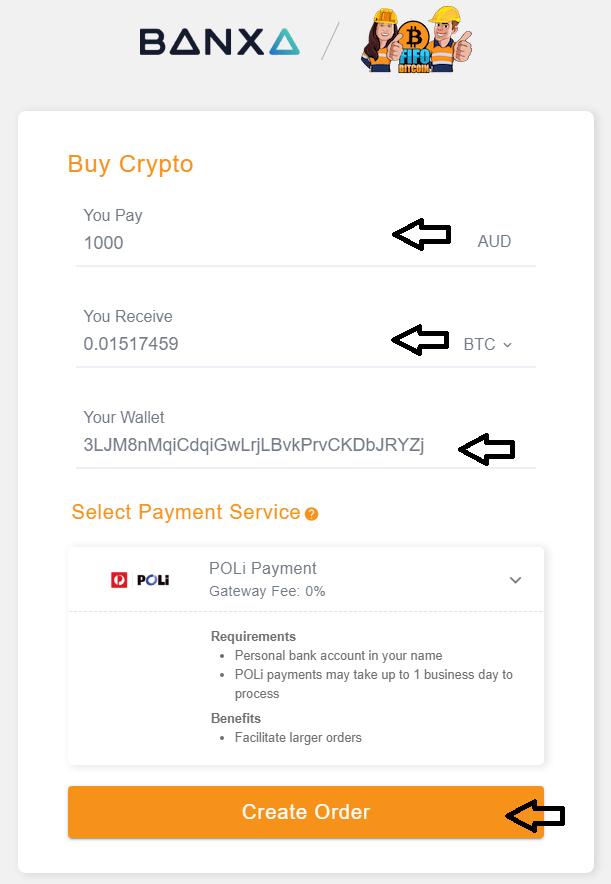 FIFO Banxa Buy 3
